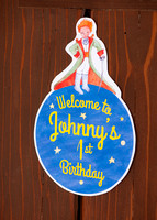 Johnny's 1st Birthday